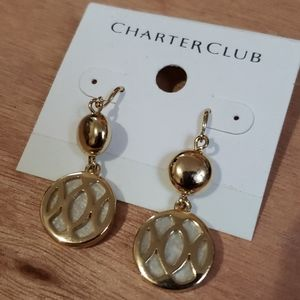 NWT Charter club earrings